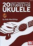 20 Easy Fingerstyle Studies For Ukulele Book/CD Set