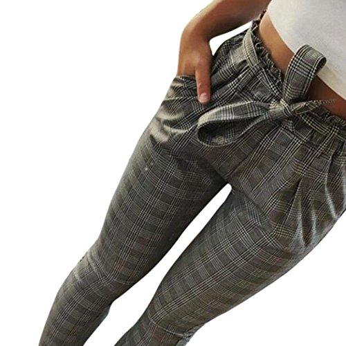 Cute Con Sportivi Scuro Jogging Moda Libero Dei Waist Donna Chino Due Chic Tasche Cintura Inclusa Autunno Tempo Monocromo Leggins Grigio Eleganti High Pantaloni Pantalone Primaverile aw57qS