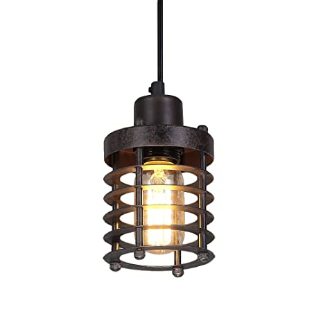 Lnc mini cage pendant lights rust ceiling lights industrial pendant lnc mini cage pendant lights rust ceiling lights industrial pendant lighting aloadofball Images
