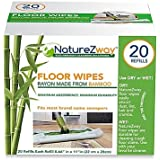 NatureZway Floor Wipes | Bring maximum absorbency and durability 20 pack (1)