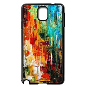 Qxhu Abstract painting Hard Plastic Back Protective case for Samsung Galaxy Note3 N9000