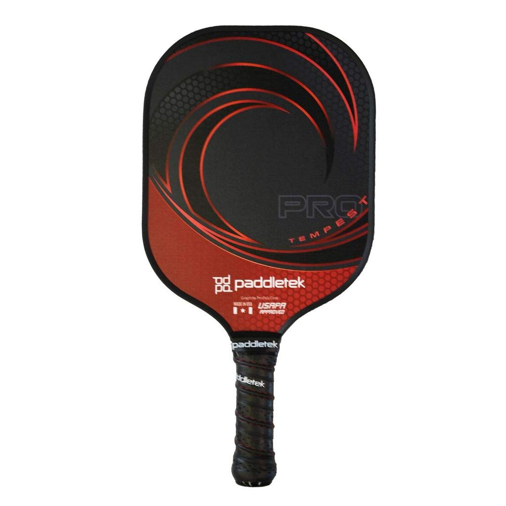 Paddletek Tempest Pro Red - Thin Grip by Paddletek