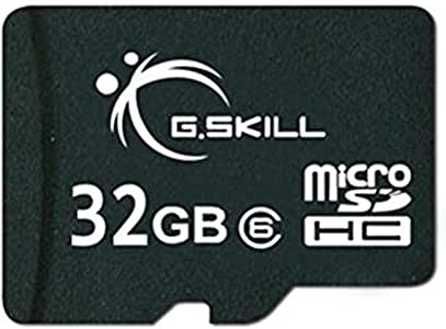 G.Skill 32GB Micro SDHC Flash Memory Card (FF-TSDG32GN-C6)