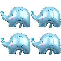 Amosfun 4 Piezas Globos de Animales Elefante Globo