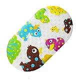"TOPSKY Baby Non-slip Bath Mat Anti-Bacterial Bathtub Mat, Shower Mat 27""x15"" (Cute Duck) … (Cute Duck)"