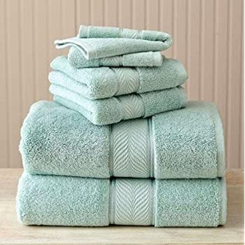 Lovely Better Homes And Gardens Thick And Plush 6 Piece Cotton Bath Towel Set    AQUIFER Pictures
