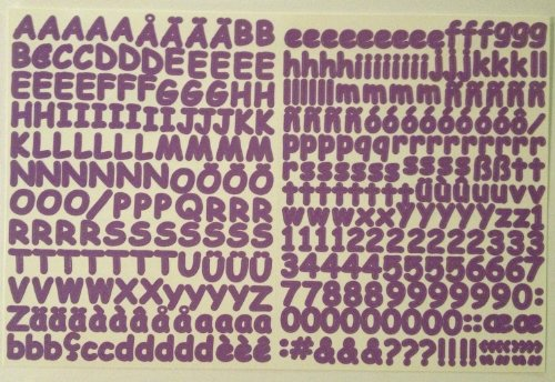 Abc 123 Stickers - Mini ABC/123 Stickers: Iris Sassy