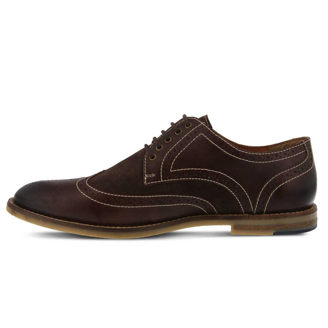 Amazon.com | Spring Step Men's Dimitri Leather, Suede, Textile Oxfords |  Oxfords