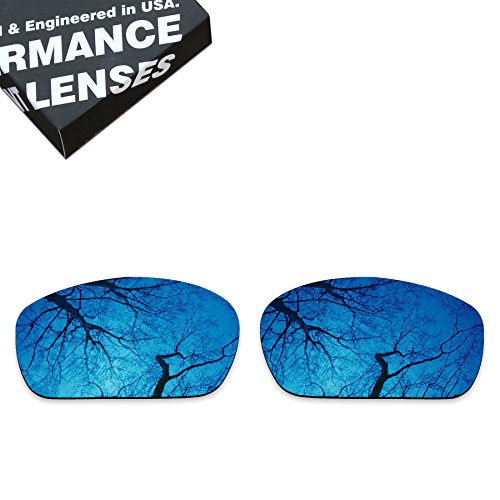 ToughAsNails Polarized Lens Replacement for Oakley Jawbone Sunglass - More Options ()