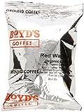 Boyds Coffee Ground Coffee, Organic Red Wagon Ground Coffee,Rojas, Dark Roast, 3-Ounce Portion Packs (Pack of 40)