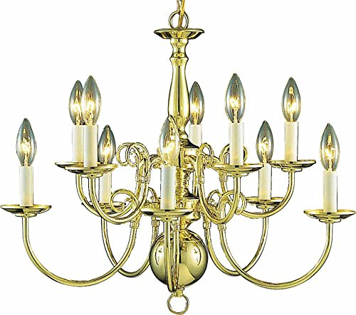 Polished Brass 10 Light - 4