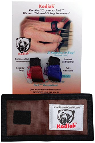 Strum-N-Comfort SNC-K2.0/DP/WP Kodiak Crossover Pick in a Dual Pack with Pouch