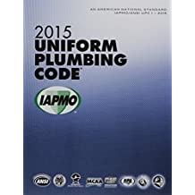 2015 Uniform Plumbing Code Soft Cover