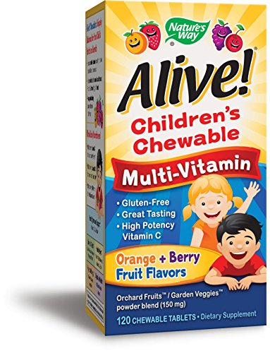Top 10 best alive kids multivitamin chewable for 2019