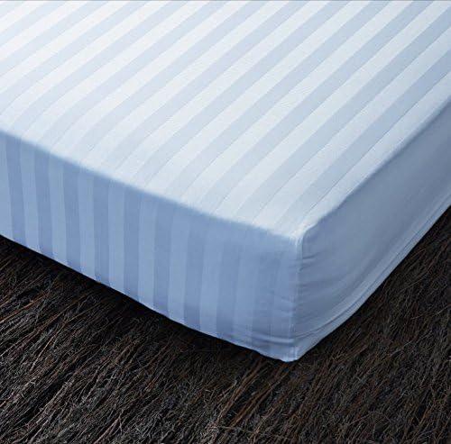 Cotopur Funda de colchón 100% algodón, Raso labrado. Fácil ...