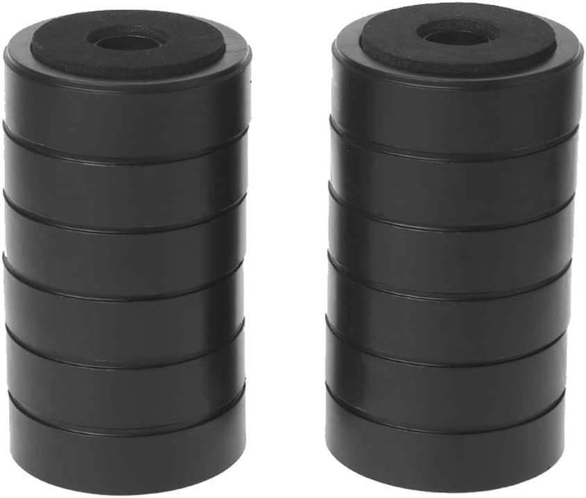 Set of 12 SimpleLife Shock Absorption Damping For Stereo Speakers Amplifier Feet Pad