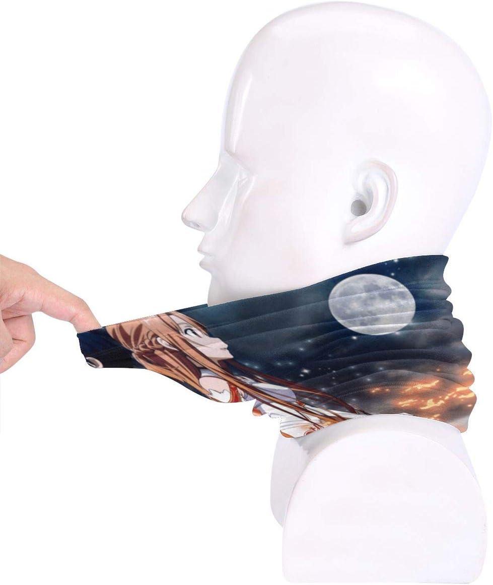 Face Mask Face Shields Scarf Neck Headband Asuna Yuuki Kirito Sw Ord Art Onlines Bandanas