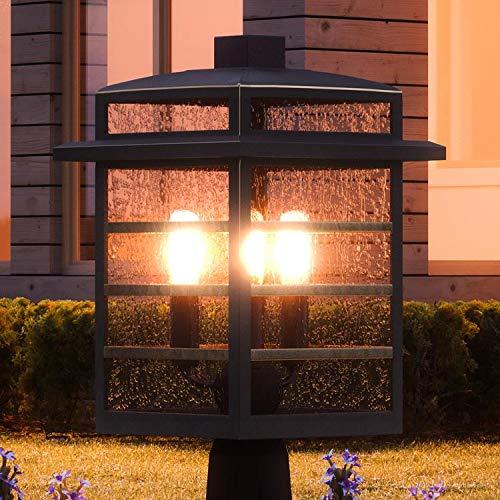 - Luxury Craftsman Outdoor Post/Pier Light, Medium Size: 16.25