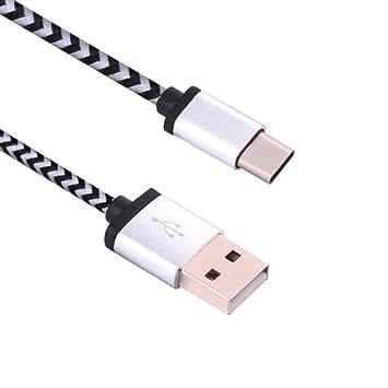 3M- Vimoli Cable USB 3.1 Cargador Tipo C Nylon Carga Rápida ...