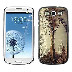 EJOY---Cubierta de la caja de protección la piel dura para el / Samsung Galaxy S3 / --Árbol del otoño