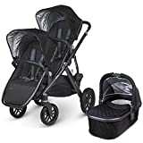 UPPAbaby 2015 Vista Stroller With Rumble Seat (Jake/Black)