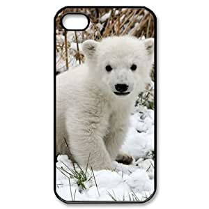 Cute polar bear iPhone 4/4s Case Back Case for iphone 4/4s