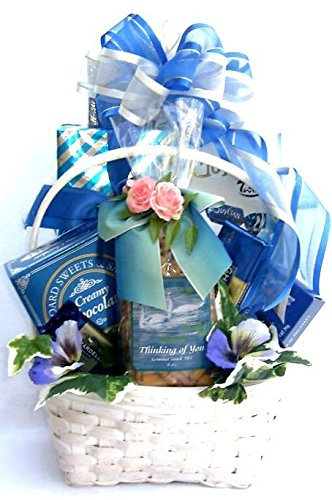 Gift Basket Village Thinking of You Get Well Gift Basket, Large