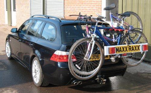 Maxxraxx 4 Bike Premier Rack Black 4 Bike Flange Ball Amazon
