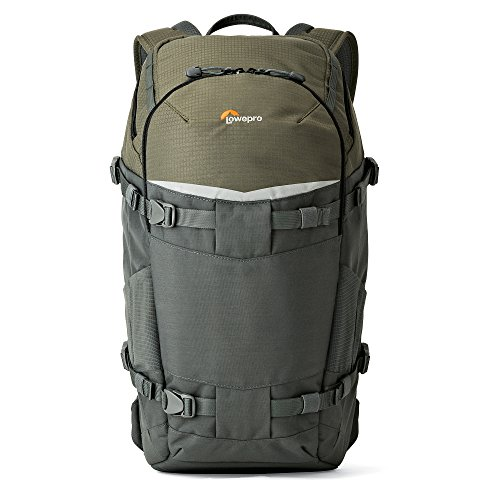 Lowepro Flipside Trek BP 350 AW Backpack for Camera - Grey/Dark - Camera Built Hoodie Case
