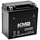 KMG Battery for Honda 400 TRX400FW Foreman 1995-2003 YTX14-BS Sealed Maintenance Free Battery High Performance 12V SMF OEM Replacement Powersport Motorcycle ATV Scooter Snowmobile