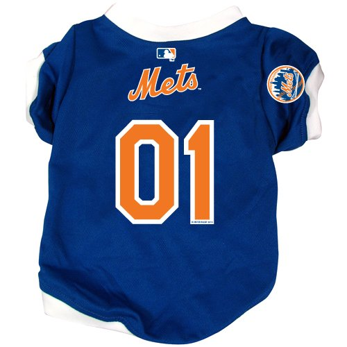 MLB New York Mets Pet Jersey,  Small