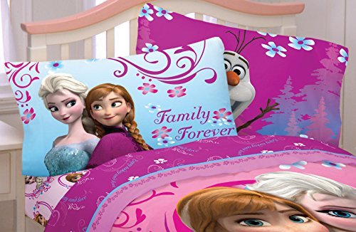Disney Frozen Coronation Day Sheet Set - 100% Cotton (Full)