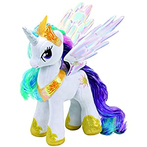 my little pony princess celestia 8 inch plush - 51Yfnm6VsnL - TY My Little Pony Soft Toy Ty41182 Princess Celestia 20cm