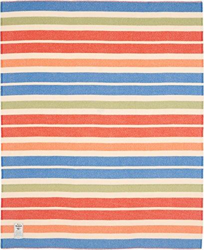 Woolrich Home Walnut Ridge Blanket, Multicolor Stripe