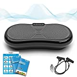 Bluefin Fitness Vibration Plate Ultra Slim 1000 Watts with...