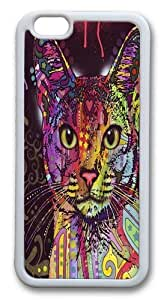 Abyssinian Custom iphone 6 plus 5.5 inch Case Cover TPU White by Maris's Diary