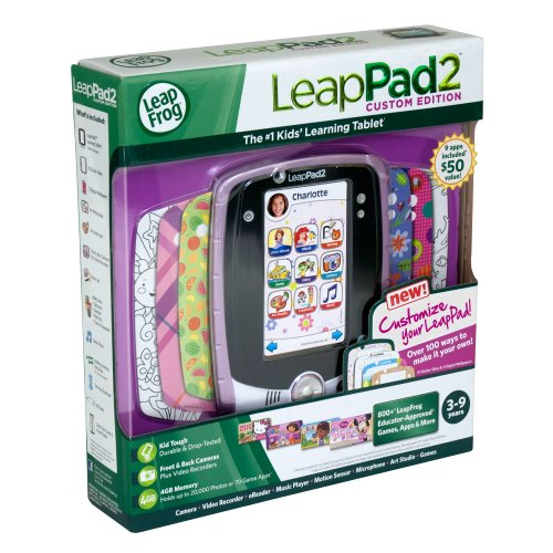 LeapFrog LeapPad2 Kids' Learning Tablet (Custom Edition), Pink by LeapFrog (Image #7)