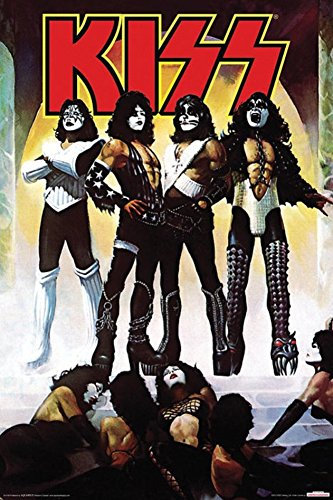 Kiss - Love Gun Poster 24 x 36in (Vintage Merchandise compare prices)