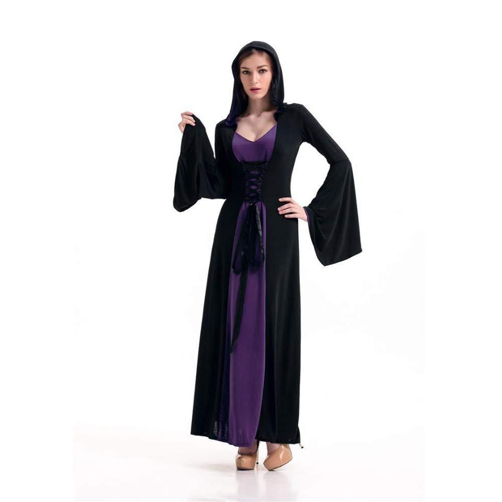 Shisky Cosplay kostüm Damen, Halloween Kostüm Mottoparty Kostüm Retro Court Outfit Königin Outfit Bühne kleiden