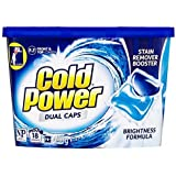 Cold Power Laundry Detergent Capsules, 18 washes , 414 grams