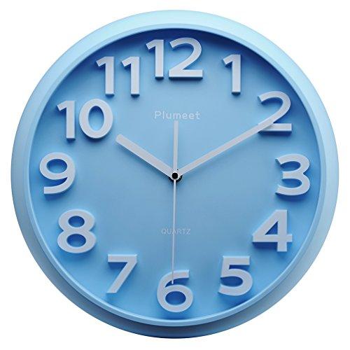 Plumeet Kids Wall Clock, 13