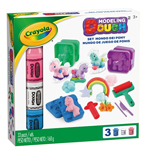 Crayola Modeling Dough Pony Play Land - 33 pieces JungleDealsBlog.com