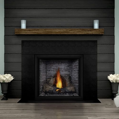 Deluxe Direct Vent Fireplace - Napoleon HDX52NT STARfire 52 Deluxe Direct Vent Gas Fireplace up to 55 000 BTU's with Safety Screen Dual Night Light and Modulating Thermostatic Proflame II Remote