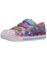 Skechers Kids Twinkle Toes Chit Chat-  Lil Chatty Light-Up Sneaker