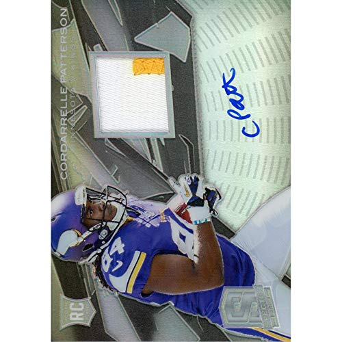 Cordarrelle Patterson Minnesota Vikings Autographed Panini Spectra Trading Card - Panini Certified - Autographed Football Cards from Sports Memorabilia