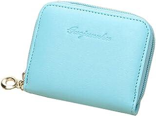 Mesdames Mini Slim Wallet Utiles multicartes Portefeuilles Petits Purse, B Blancho Bedding