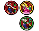 American Greetings Super Mario Paper Dessert Plates, 8 Count (Limited Edition)