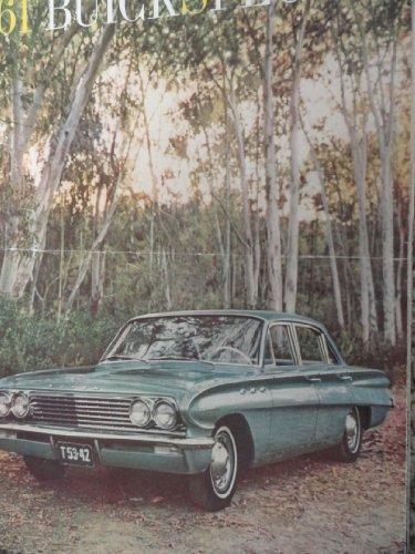 Original 1961 Buick Special Sales Brochure