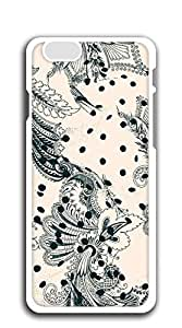 FSKcase? Black Floar Retro hard PC iphone 6 cases 4.7
