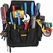 DEWALT DG5103 Small Durable Maintenance and Electrician's Pouch with Pockets for Tools, Flashlight,